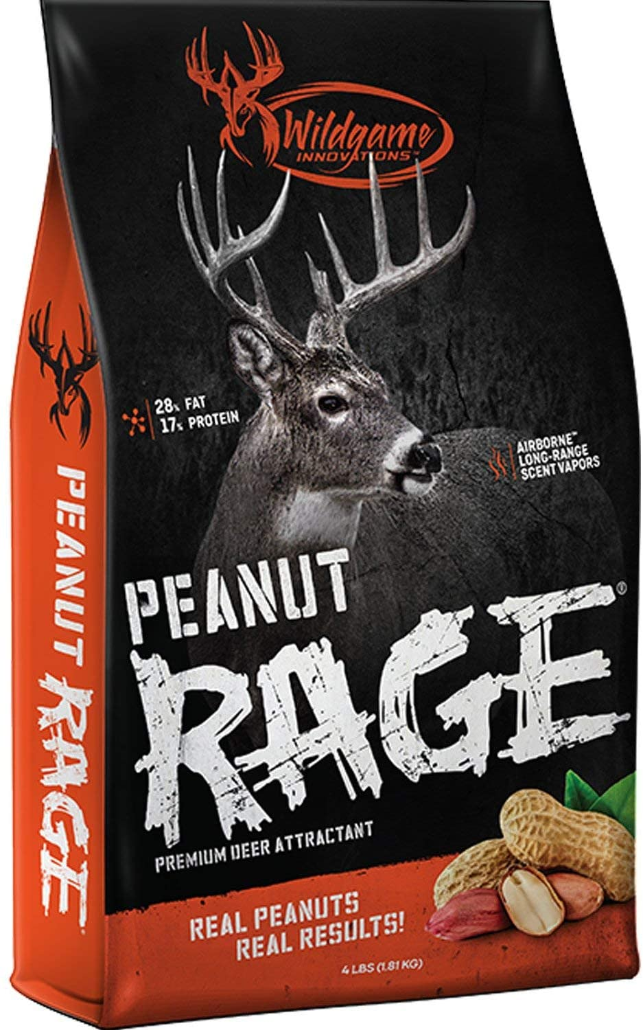 Wildgame Innovations Peanut Rage Deer Attractant 5lb, Premium Wildlife Attractant, Beige