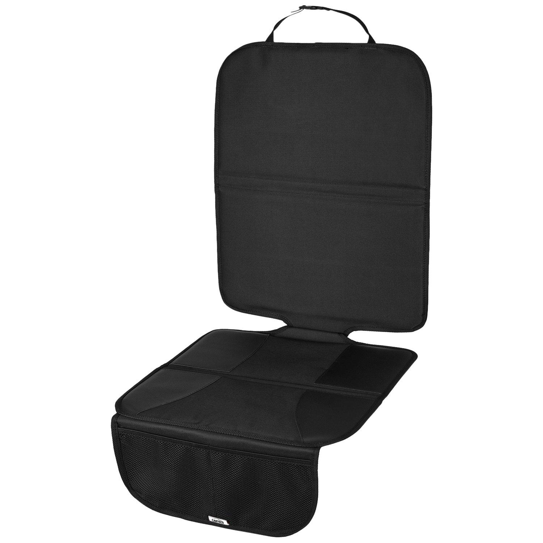 CARTECO Komfortable Autositzauflage, universelle Größe, anthrazit, Kindersitzunterlage, Schutz vor Kindersitze universelle Größe eSpring GmbH