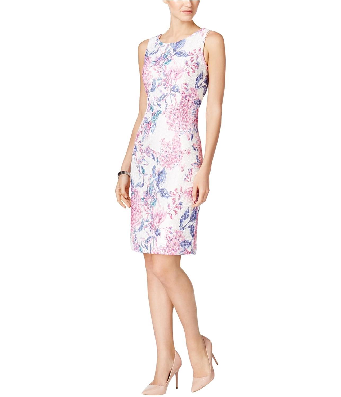 b5316c1cf50 Top12  Ivanka Trump Women s Printed Floral Lace Sheath Dress