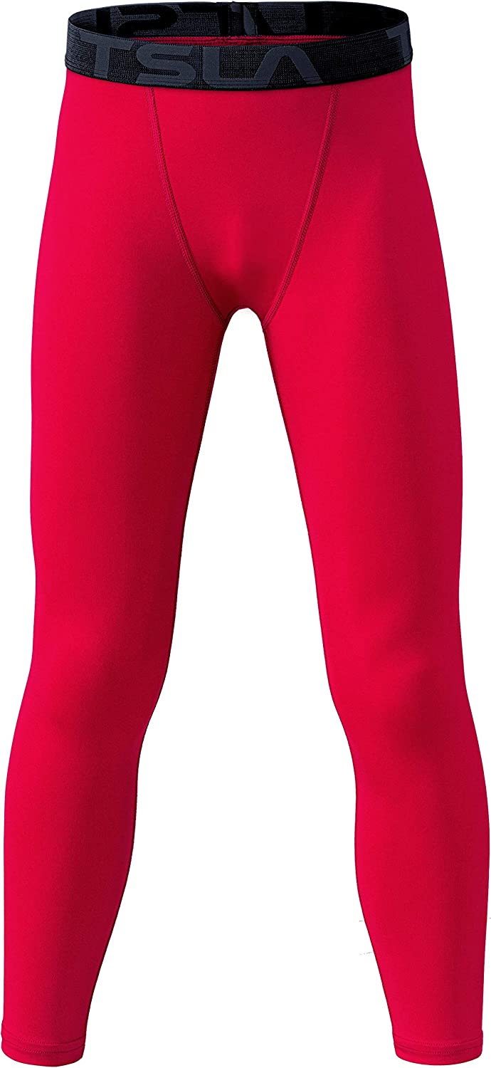 Amazon.com : TSLA Boys Youth UPF 50+ Compression Pants Baselayer, Cool Dry  Active Running Tights, Sports 4-Way Stretch Workout Leggings : Clothing