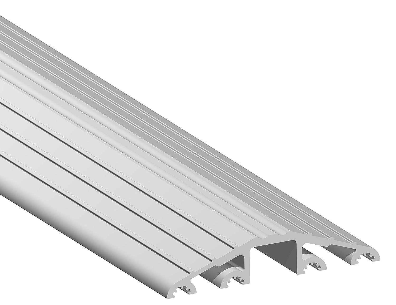 Stormguard 04sr0531000 a Industrial calidad suelo umbral rampa, aluminio, 1 m, Set de 4 piezas 1m Set de 4piezas 04SR0531000A
