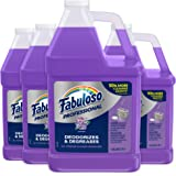 FABULOSO Professional All Purpose Cleaner & Degreaser Gallon Refill, Lavender, 4 Gallons Total (128 oz Bottle | Case of 4), M