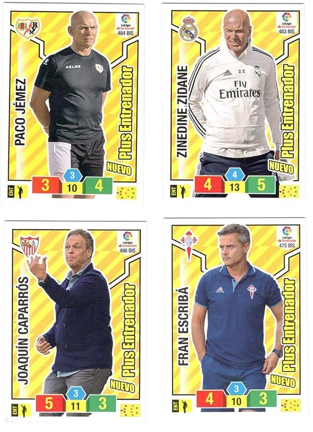 Jugon Lote los 4 Entrenadores bis edición Limitada Adrenalyn 2018 ...