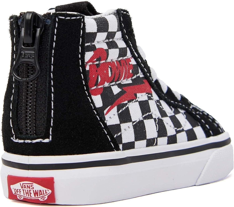 Vans Kids Toddler David Bowie Sk8 Hi Zip Sneakers