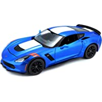 Maisto 1:24 Scale 2017 Corvette Grand Sport Diecast Vehicle (Colors May Vary) Vehicle
