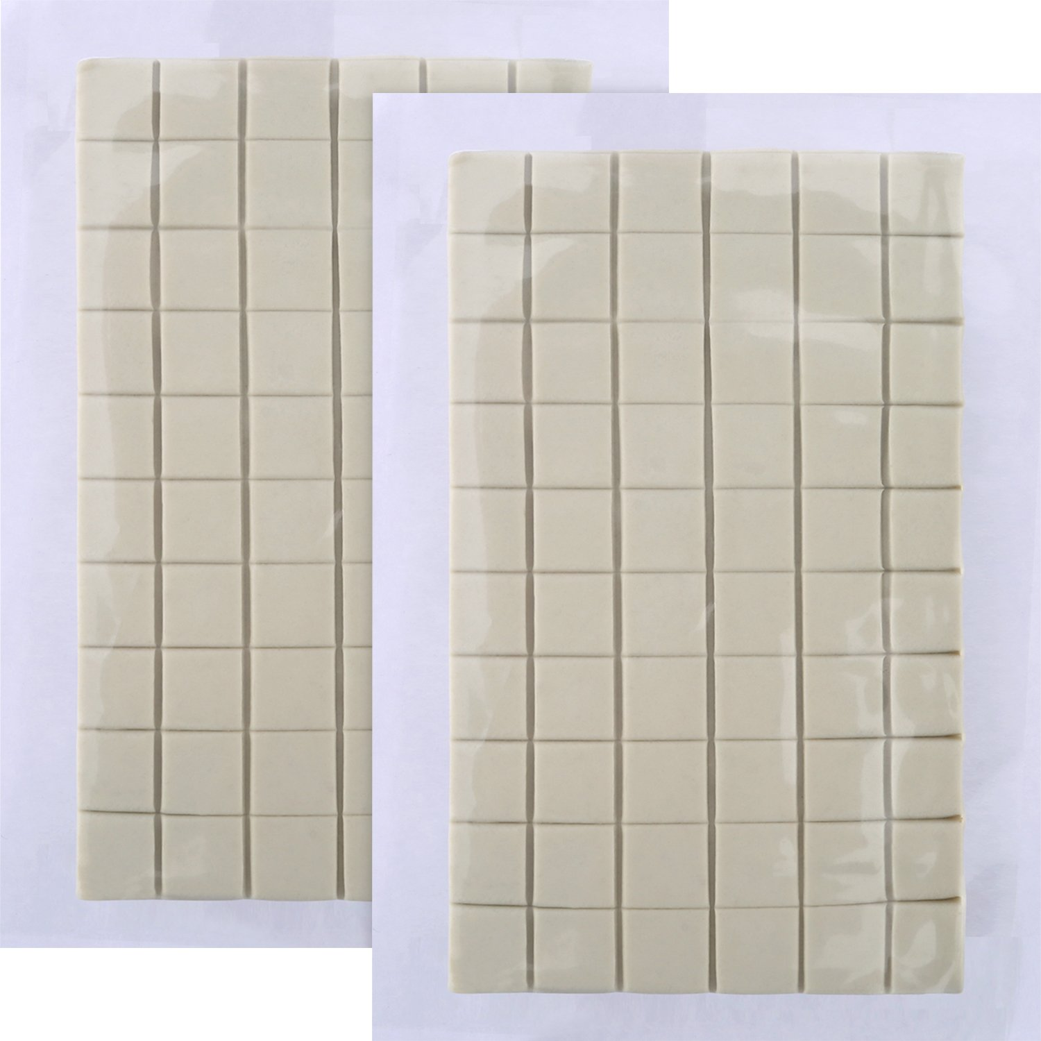 Bememo 2 Pack Adhesive Putty Reusable Removable Sticky Tack Poster Non Toxic Tape Dry Adhesive Sticky Putty