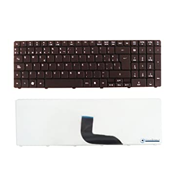 Teclado español QWERTY negro para ordenador portátil ACER Aspire 7250: Amazon.es: Electrónica