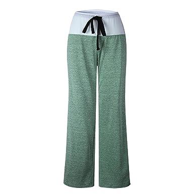 Amazon.com: Pantalones de yoga, pilates, de moda, para mujer ...