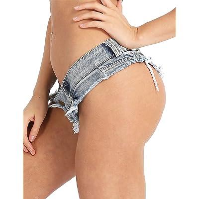 Adelina Bikini para Mujer Calzoncillos Cortos Pantalones De Playa Pantalones Cortos Moda Completi Pantalones Cortos De Mezclilla Pantalones Cortos De Mezclilla Pantalones Cortos De Estilo Destrozado: Ropa y accesorios