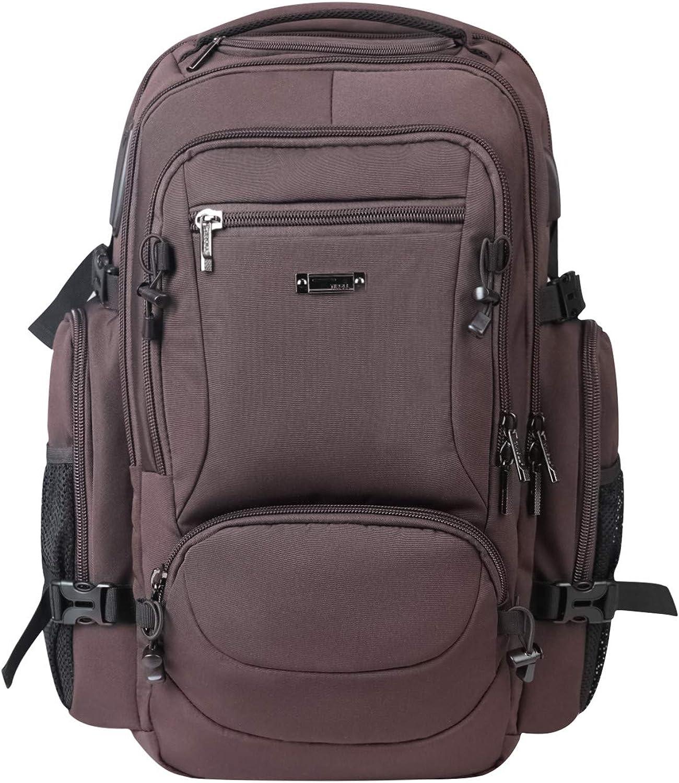 Travel Laptop Backpack Large School Bag Waterproof USB Charging Port fit 17 Inch
