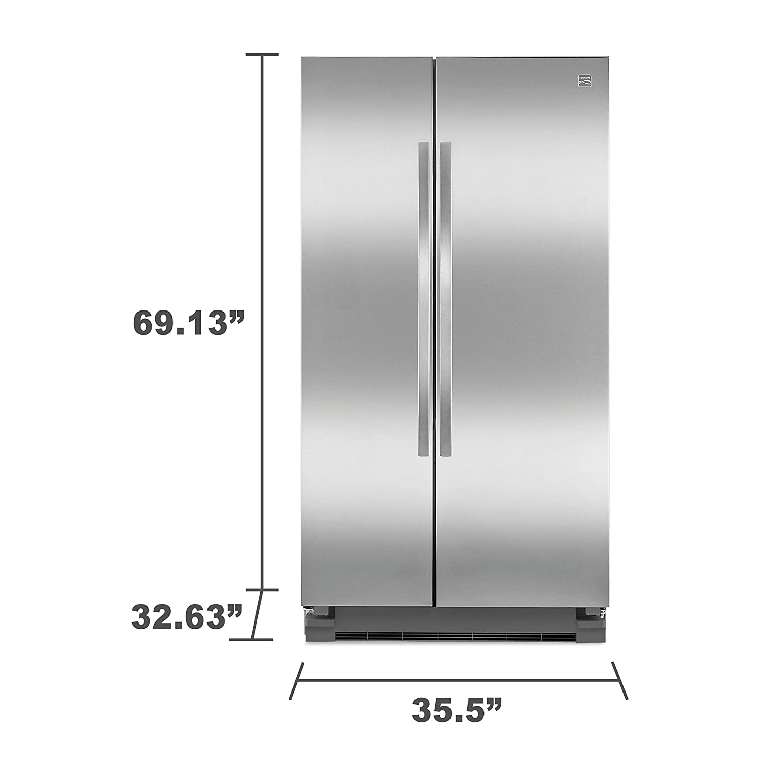 18 cubic foot with ice maker appliance city frigidaire 18 for 18 cubic foot french door refrigerator
