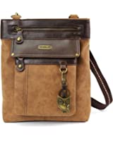 Chala GEMINI Crossbody Faux Leather Gift Messenger Bag