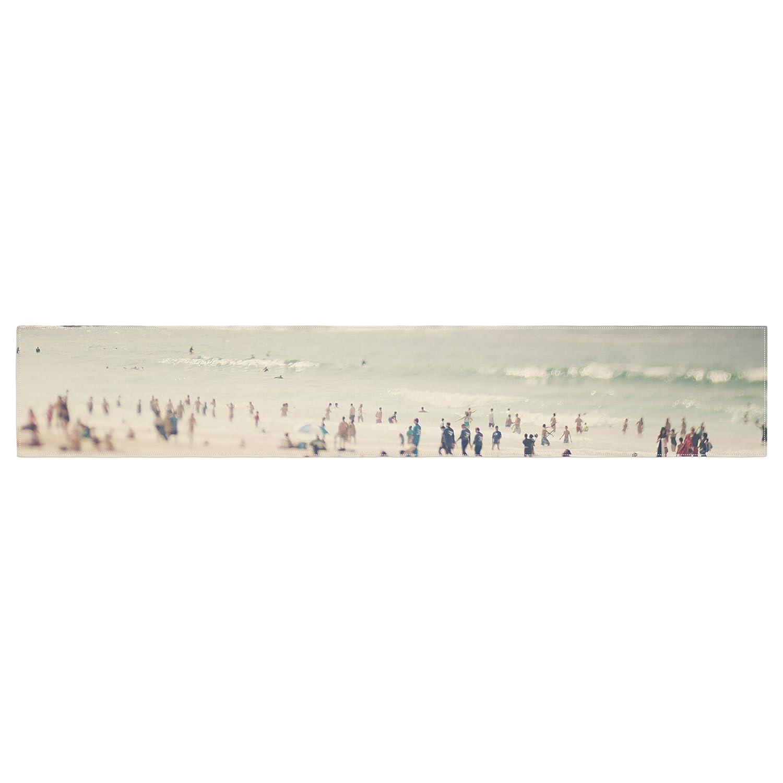 Kess InHouse Catherine McDonald Bondi Beach Coastal People Table Runner
