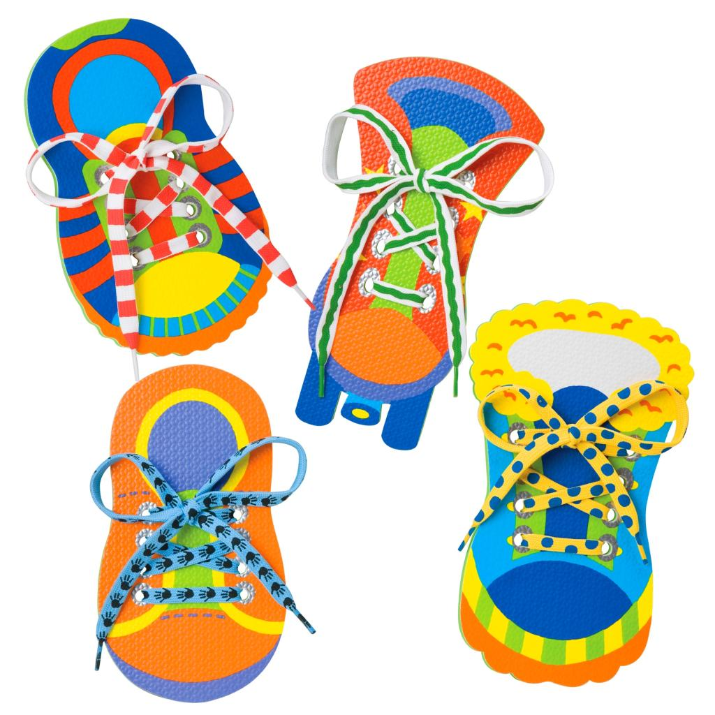 Alex Toys - Early Learning 1, 2 Tie My Shoe - Little Hands -2384