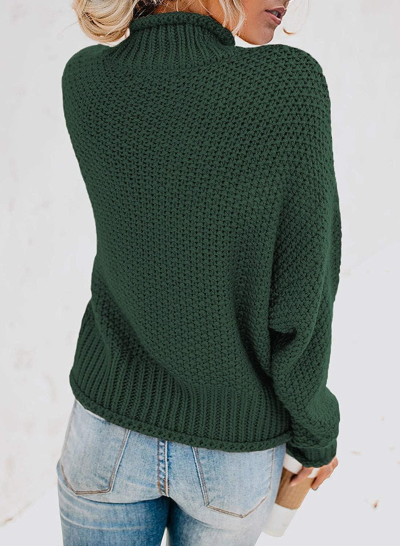 Dokotoo Pull Femme Chandail Casual Veste /à Manche Longue Sweater Simple Top S-XXL