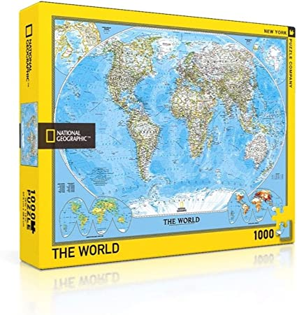 National Geographic Eastern Bird Migration New York Puzzle Company 1000 Piece Jigsaw Puzzle