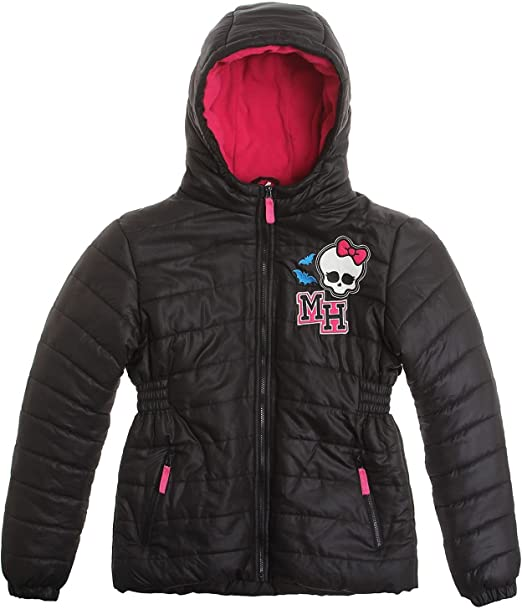 Monster High Winterjacke schwarz