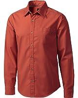 Marmot Broderick Shirt - Long-Sleeve - Men's Dark Rust, M
