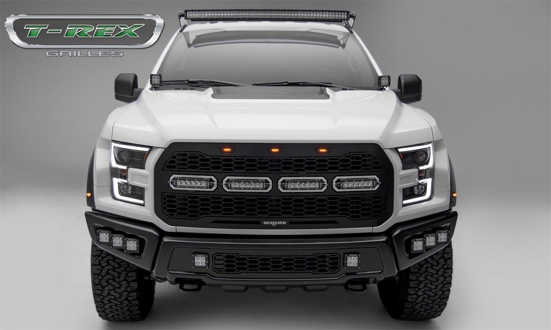 Amazon.com: T-Rex 6515661 Black Revolver Grille Ford F150 Raptor, 1 Pack:  Automotive