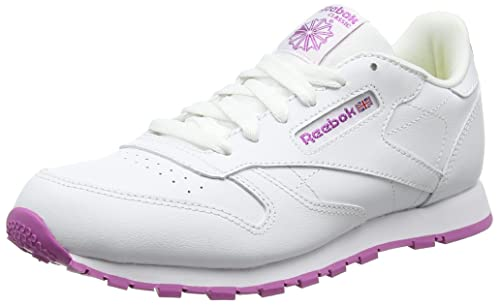 8f43d8b57fa Reebok Girls  Classic Leather Trainers  Amazon.co.uk  Shoes   Bags