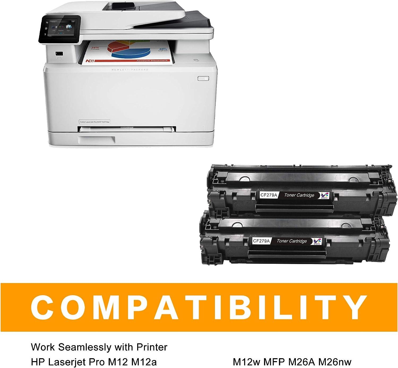 ONLYU Cartucho de Tóner Compatible Repuesto para HP 79A CF279A ...