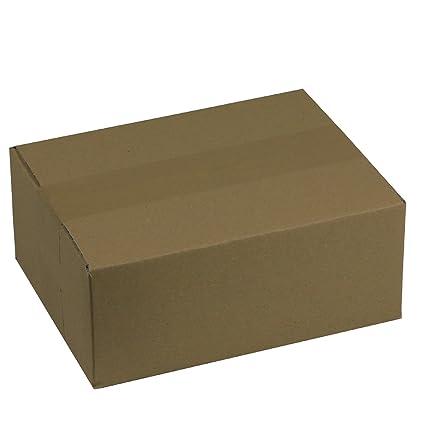 600 x Cartón Plegables 220 x 160 x 90 mm Cajas de Cartón del ...