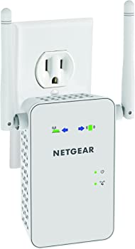 Netgear AC750 Dual Band Gigabit Wi-Fi Range Extender