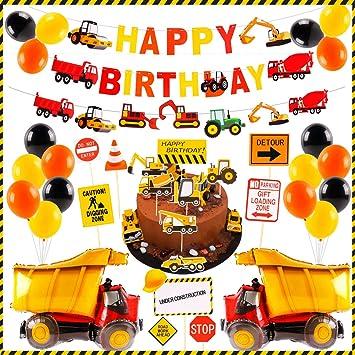 Amazon.com: Suministros de construcción de cumpleaños para ...
