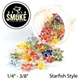 100+20 Premium Glass Starfish Pipe Screens