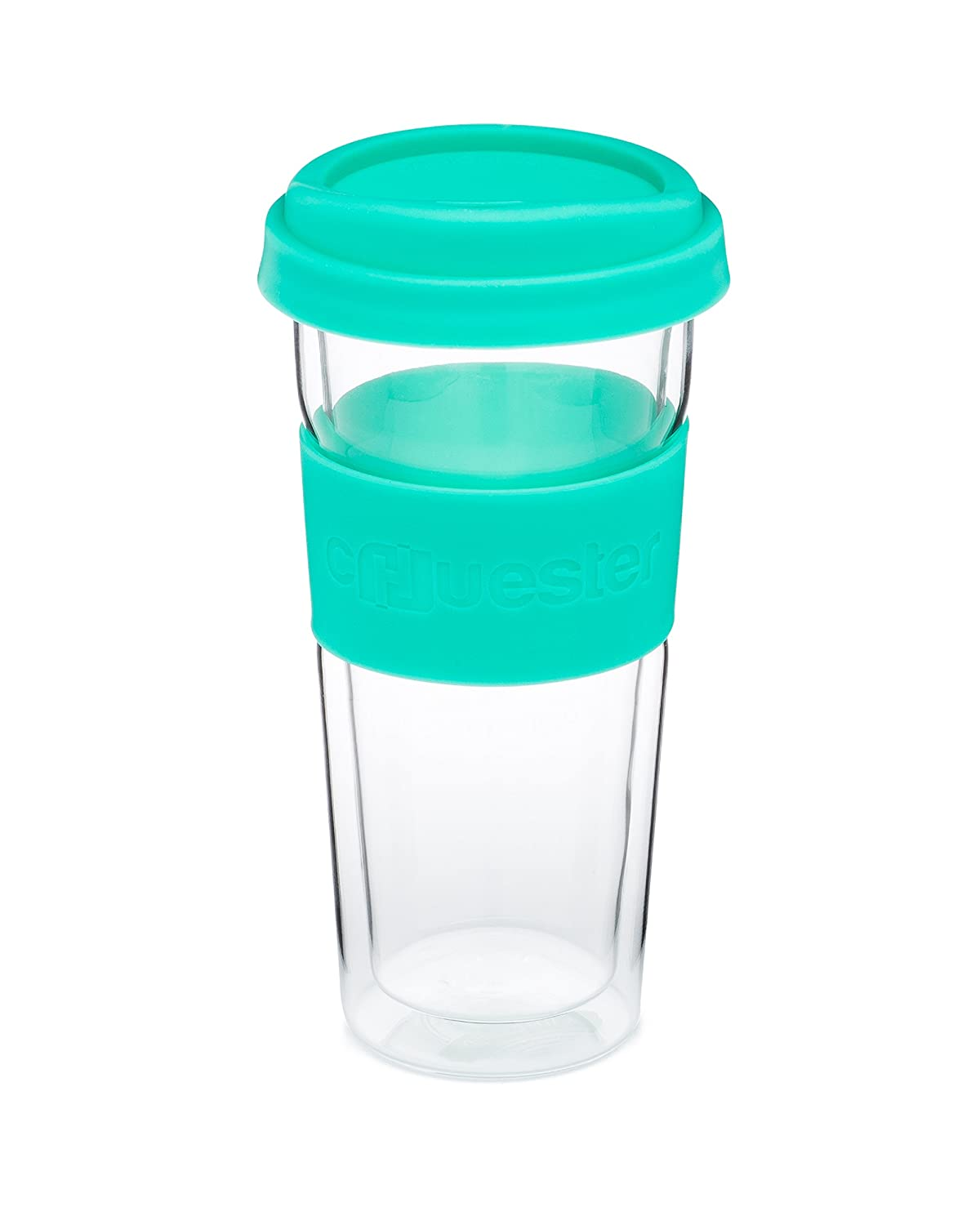 chuester oz doublewalled glass travel mug amazonca home  - chuester oz doublewalled glass travel mug amazonca home  kitchen