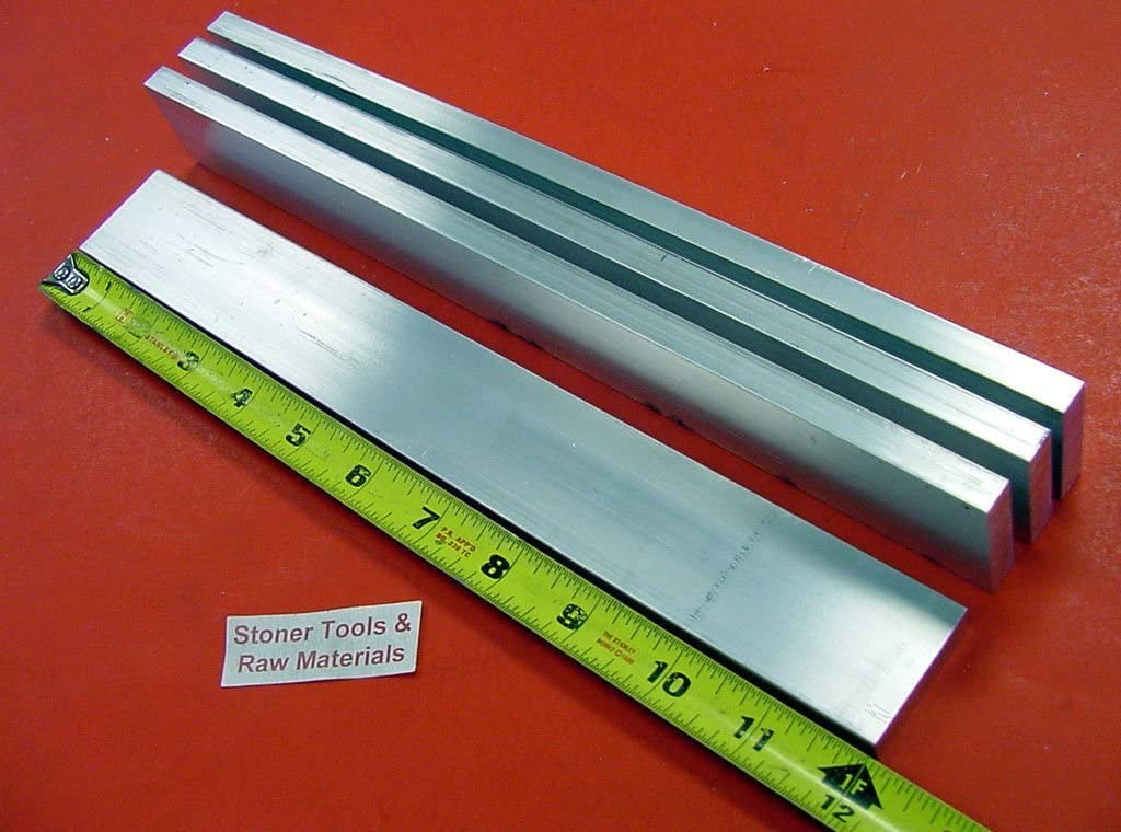 "5 Pieces 3//8/"" X 1/"" X 14/"" Long ALUMINUM FLAT BAR STOCK SOLID .375/"" 6061-T6511"