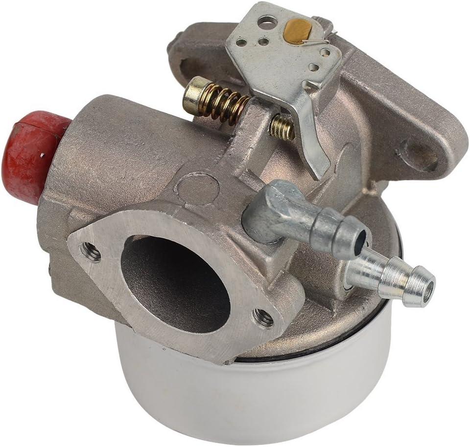 Oxoxo Carburateur 640004/640014/640025/640025/A 640025b 640025/C avec 36046/740061/filtre /à air pour Tecumseh Ohh50/Ohh55/Ohh60/Ohh65/moteurs