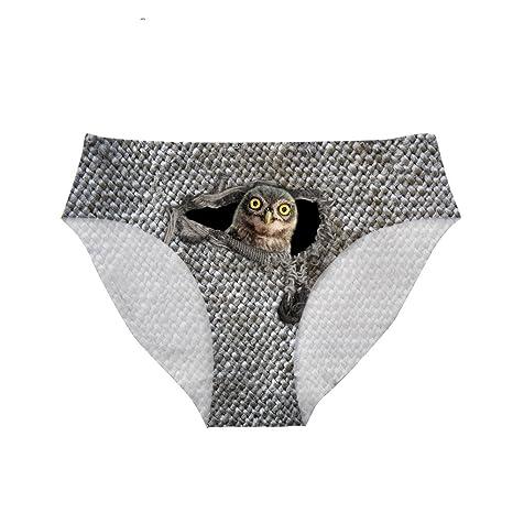 e2996c0e994880 Upetstory Cute Animal Print Panties Women Spandex Underwear Seamless at  Amazon Women's Clothing store: