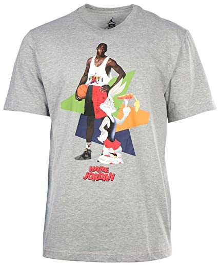 9bb4fb7caedb Image Unavailable. Image not available for. Color   658559-063  AIR Jordan  AJ VII WB Hare Poster TEE Apparel T Shirt