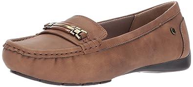 LifeStride Women's Vanity Slip-on Loafer, Tan, ...