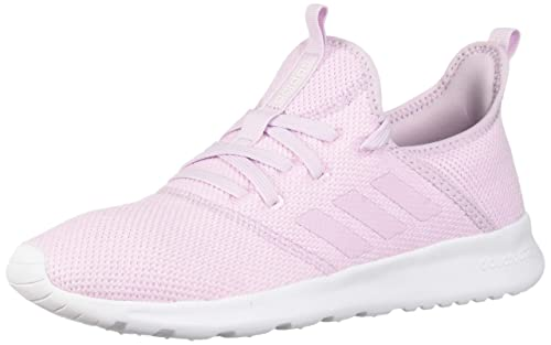 Adidas Womens Cloudfoam Pure Low Top Lace Up Running Sneaker, Pink, Size 7.0