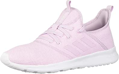 adidas Women's Cloudfoam Pure Running Shoe, Aero Pink/Aero Pink/White, 5 Medium US