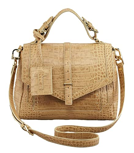 ea8da9e45db0 Image Unavailable. Image not available for. Color  Tory Burch 797 Medium  Satchel ...