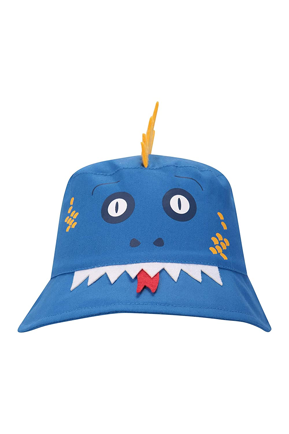 For Spring Travelling Easy Care Childrens Cap Mountain Warehouse Character Kids Bucket Hat -100/% Cotton Sun Hat Wide Brim Summer Hat Beach /& Camping Boys /& Girls
