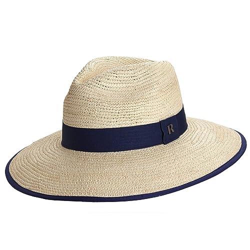 7d8a6c2eedf12 RACEU ATELIER Sombrero Panamá Ala Ancha Taisha Natural - Sombrero Mujer  Hombre Unisex - Tejido a