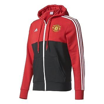 Adidas Mufc 3S Hood FZ Manchester United FC, sudadera, multicolor, extra-small: Amazon.es: Deportes y aire libre