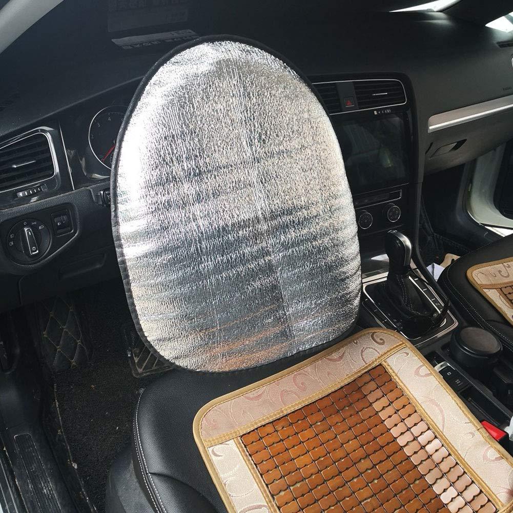 Zubeh/ör Silber Sonnenschutz nieliangw0q Innendekoration Radabdeckung aus Dicker Baumwolle f/ür Auto-Lenkrad