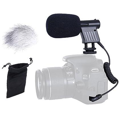 171ac2ad0 Amazon.com   Movo VXR1000 Mini HD Shotgun Condenser Microphone for DSLR  Video Cameras   Camera   Photo