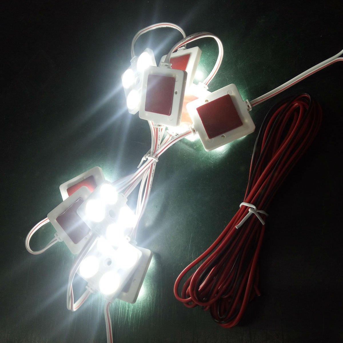 WINOMO Auto Interni della lettura della luce 5050/SMD 40/LED Lights Impermeabile LED Module per LWB Van Trailer Boote