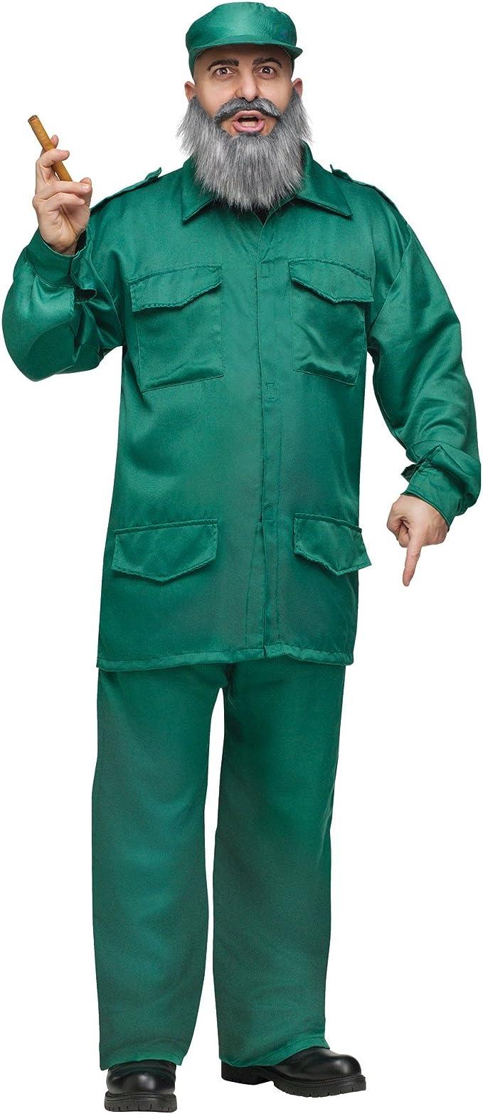 Disfraz De Dictador Comunista Cubano De Fidel Castro Para Adulto ...