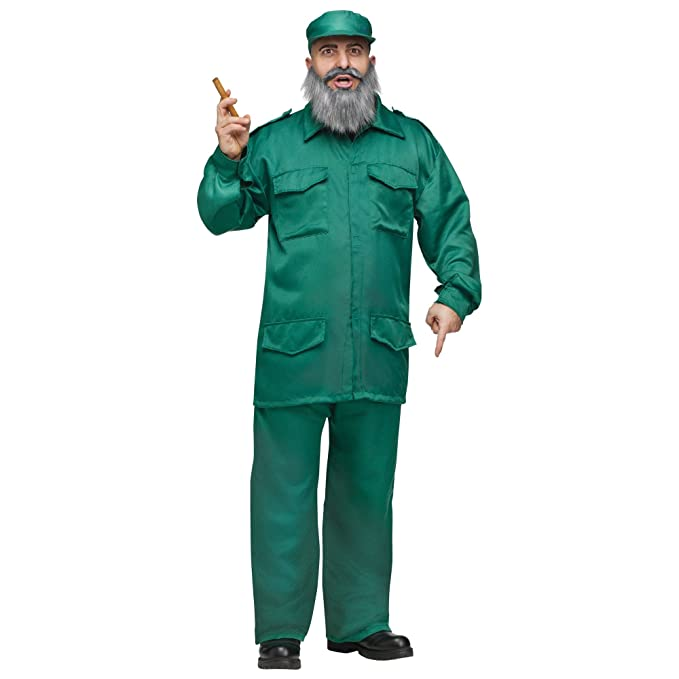 Disfraz De Dictador Comunista Cubano De Fidel Castro Para ...