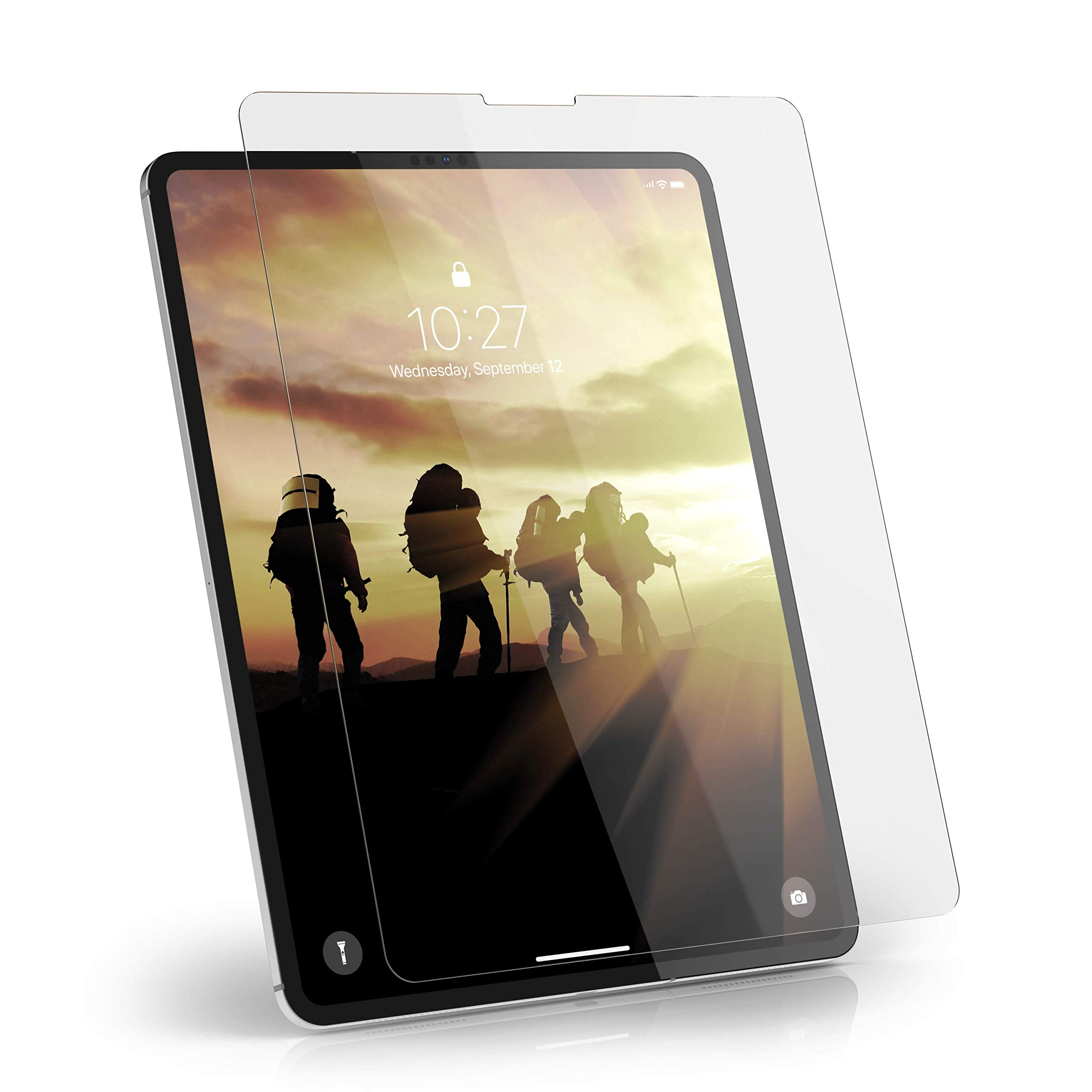 URBAN ARMOR GEAR UAG iPad Pro 12.9-inch (3rd Gen, 2018) Tempered Glass Anti-Fingerprint & Scratch Resistant Screen