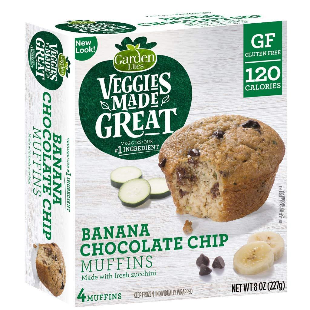 Garden Lites Banana - Muffins de chocolate: Amazon.com ...
