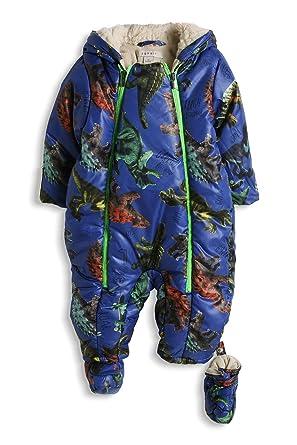 83e12386ea3d56 Esprit Baby - Jungen Schneeanzug mit Kapuze, All Over Print, Gr. 62 ...