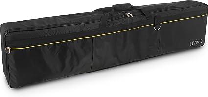 Oxford Fabric 88 keys Organ Electronic Keyboard Gig Bag Soft Case Black New